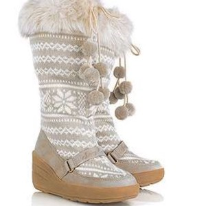 Juicy Couture White/beige Boots
