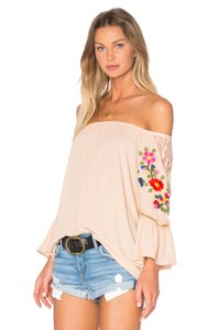 Vava by Joy Han Kacie Top Taupe