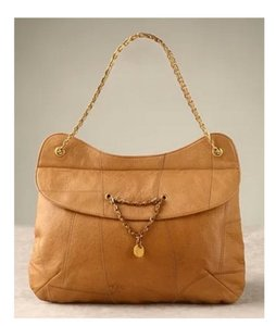 Mayle Jeanne Maison Leather Shoulder Bag