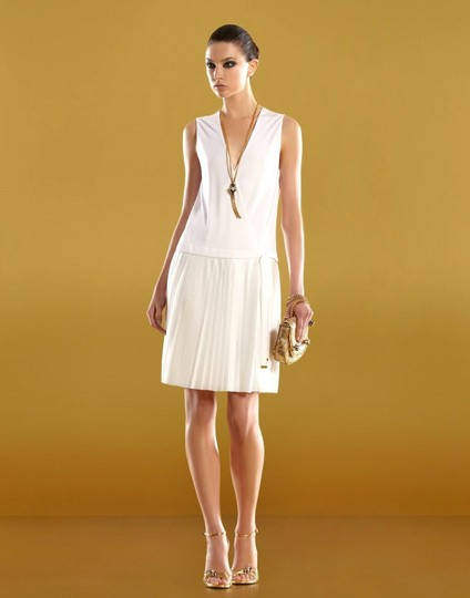cab927d0a chic Gucci White $1795 New Runway Sz M 291957 Dress - 80% Off Retail ...