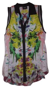 Prabal Gurung for Target Sleeveless Collared Button-down Top Multi