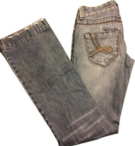 Kali Denim Straight Leg Jeans-Distressed