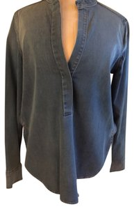 Vince Denim Tunic Classic Casual Top