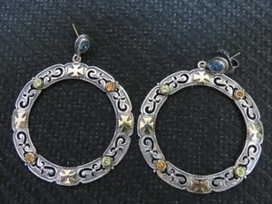 Other Konstantino Sterling Silver & Gem Stone Earrings