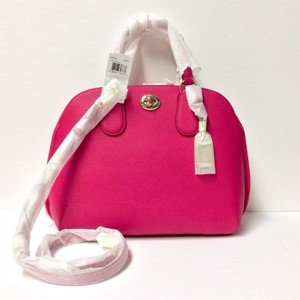 Coach 34939 Pink Prince Street Dome Satchel in PINK RUBY