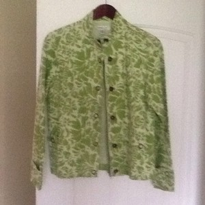 Coldwater Creek Green Jacket