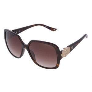 Escada ESCADA SES 270 722 Women Brown Square Oversized Sunglasses