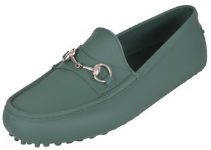 Gucci Men's Loafers Green Flats
