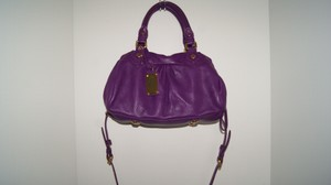Marc by Marc Jacobs Leather Satchel in Violet