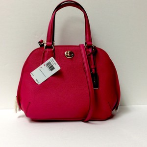 Coach 34940 Prince Pink Satchel in PINK RUBY