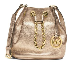 Michael Kors Frankie Metallic Cross Body Bag