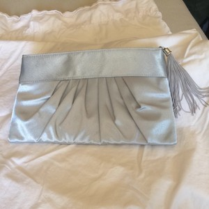Silver Clutch With Tassle
