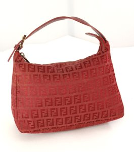 Fendi Wristlet in Red