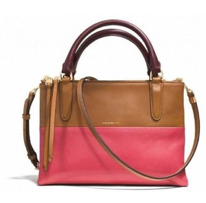Coach Borough Colorblock Loganberry 32503 Cross Body Bag