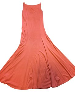 orange Maxi Dress by Ralph Lauren