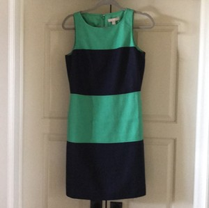 Banana Republic short dress Green, Navy blue on Tradesy
