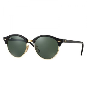Ray-Ban New Ray Ban RB4246 901 Black Round Phantos Clubround Sunglasses
