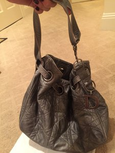 Dior Bucket Drawstring Hobo Bag