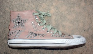 Ash Jeweled Rose and studded Athletic