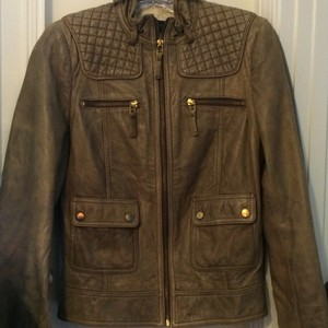 Zara Chamoisee Leather Jacket