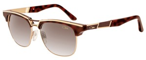 Cazal CAZAL 9050 Sunglasses WAYFARER (002) Brown Gold AUTHENTIC New