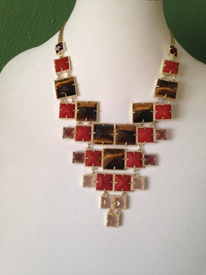 Kendra Scott Maddox Red Chariot Necklace