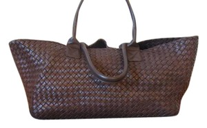 Bottega Veneta Tote in Ebano/Brown