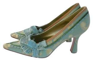 Manolo Blahnik 40 Valentino 40 Green Pumps