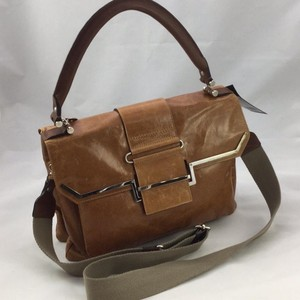 Lanvin Satchel in Cognac Brown