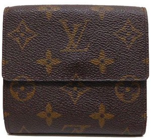 Louis Vuitton Louis Vuitton Monogram Wallet (bi-fold) M61654 Men