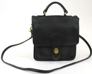 Coach Vintage Casual Leather Cross Body Bag