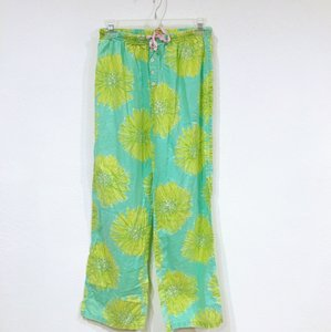 Lilly Pulitzer Relaxed Pants Green, Pink