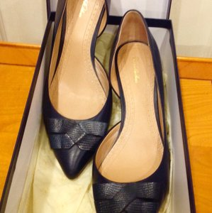 Brooks Brothers Navy Pumps