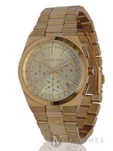 Michael Kors NEW WOMENS MICHAEL KORS (MK5926) GOLD CHANNING CHRONOGRAPH DIAL WATCH