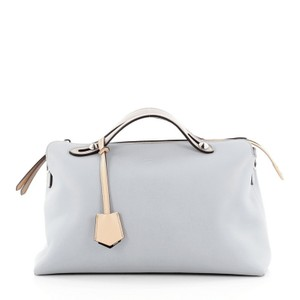 Fendi Calfskin Satchel in Baby blue