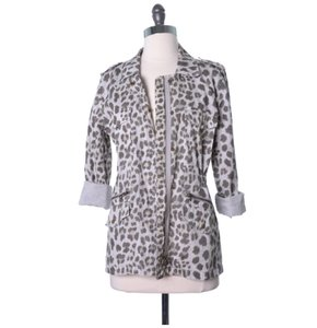 Velvet by Graham & Spencer Casual Leopard Jacket