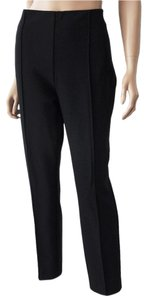 Lafayette 148 New York Straight Leg Straight Pants Black