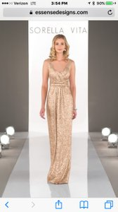 SORELLA VITA Sequin Evening Gown Dress