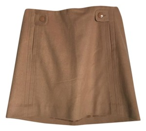 J.Crew Mini Skirt Camel