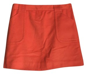 J.Crew Mini Skirt Orange