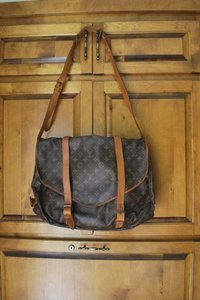 Louis Vuitton Saumur Cross Body Bag