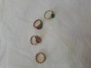 Got them from different companies Fashion ring