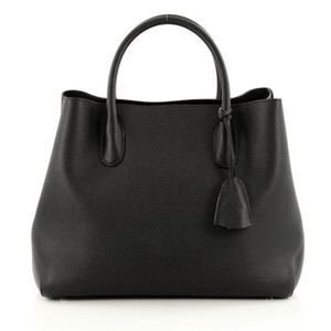Dior Christian Leather Tote in Black