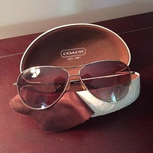 Coach Aviator Sunglasses