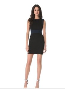Diane von Furstenberg short dress black on Tradesy