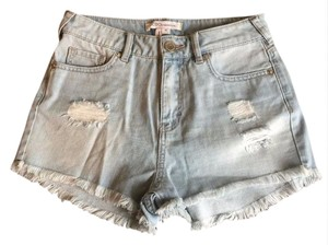BCBGeneration Cut Off Shorts Blue
