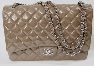 Chanel Quilted Classic Jumbo Double Flap Shoulder Bag