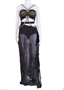 Versace Chiffon Icon Gown Dress