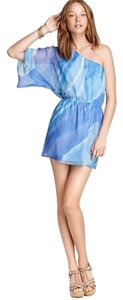 Alcee short dress light blue on Tradesy