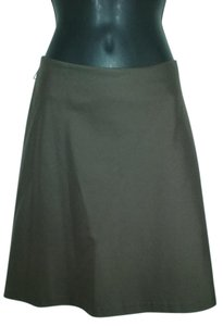 DKNY A-line Skirt Brown